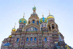 Church of the Saviour on Spilled Blood Stock Image