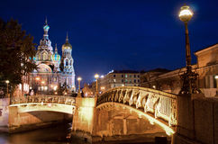 Church of the Saviour on Spilled Blood (Spas na Krovi), St. Pete Royalty Free Stock Images