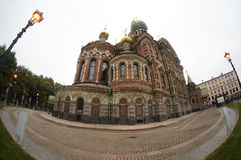 Church of the Saviour on Spilled Blood Royalty Free Stock Photography