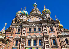 Church of the Saviour on Spilled Blood in St. Petersburg, Russia Royalty Free Stock Image