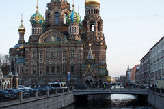 Church of the Saviour on Spilled Blood, St. Petersburg, Russia. Church of the Saviour on Spilled Blood in St. Petersburg, Russia royalty free stock photography