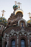 Church of the Saviour on Spilled Blood, St. Petersburg, Russia. Church of the Saviour on Spilled Blood in St. Petersburg, Russia Royalty Free Stock Images