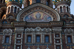 Church of the Saviour on Spilled Blood, St. Petersburg, Russia. Church of the Saviour on Spilled Blood in St. Petersburg, Russia Royalty Free Stock Photo