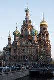 Church of the Saviour on Spilled Blood, St. Petersburg, Russia. Church of the Saviour on Spilled Blood in St. Petersburg, Russia stock image