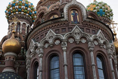 Church of the Saviour on Spilled Blood, St. Petersburg, Russia. Church of the Saviour on Spilled Blood in St. Petersburg, Russia Stock Photos