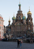 Church of the Saviour on Spilled Blood, St. Petersburg, Russia. Church of the Saviour on Spilled Blood in St. Petersburg, Russia stock photo