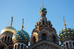 Church of the Saviour on Spilled Blood, St. Petersburg, Russia. Church of the Saviour on Spilled Blood in St. Petersburg, Russia royalty free stock image