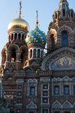 Church of the Saviour on Spilled Blood, St. Petersburg, Russia. Church of the Saviour on Spilled Blood in St. Petersburg, Russia Stock Photography