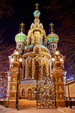 Church of the Saviour on Spilled Blood in St. Petersburg, Russia Royalty Free Stock Photos