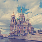 Church of the Saviour on Spilled Blood, St. Petersburg, Russia . Royalty Free Stock Photo