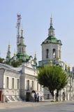 Church of the Saviour. Tyumen. Stock Images