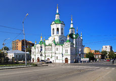 Church of the Saviour in Tyumen, Russia Royalty Free Stock Photography