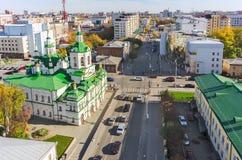 Church of Saviour in Tyumen, Russia Stock Image