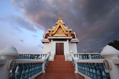 Church of Sawang Arom temple, Sabot, Thailand Royalty Free Stock Images