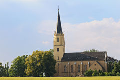 Church in Saxony, Germany Stock Photo
