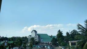 CHURCH. SBCD DIMAPUR NAGALAND INDIA royalty free stock photo