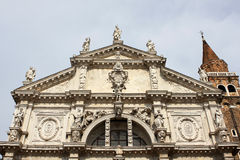 Church of the Scalzi, Venice Royalty Free Stock Images