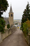 The Church in Schengen, Luxembourg Stock Photos