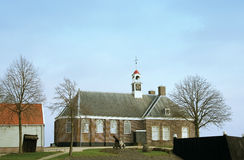 Church on Schokland. A former island. UNESCO world heritage Royalty Free Stock Photography