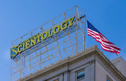 Church of Scientology in Hollywood, California Royalty Free Stock Image