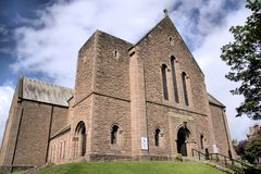 Logie and St John`s Cross Parish Church, Dundee royalty free stock photos