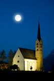Church of Scuol Stock Photography