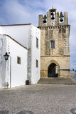 Church of Se on the historical area of Faro, Portugal. Royalty Free Stock Image