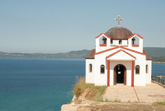 Church on the sea Stock Images