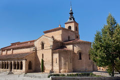 Church in Segovia. City Spain Stock Photo