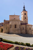 Church in Segovia Royalty Free Stock Photography