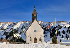 Church in Seiseralm, Val Gardena Royalty Free Stock Photos