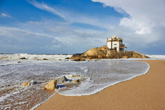 Church Senhor da Pedra in Porto, Portugal Royalty Free Stock Images