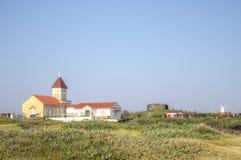 Church at Seopjikoji, Jeju Island. South Korea Stock Photo