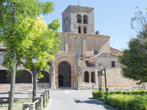 Church of Sepulveda Royalty Free Stock Photo