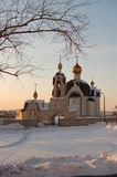 Church of the seraph sarovskogo Royalty Free Stock Image