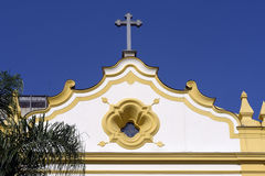 Church of the Seraphic Father St. Francis in the Largo Sao Franc Royalty Free Stock Photo