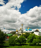 Church in Sergiev Posad, Russia Royalty Free Stock Photo