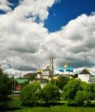 Church in Sergiev Posad, Russia Royalty Free Stock Photo