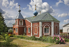 Church of Sergius of Radonezh in Lukhovitsy. Russia Stock Photography