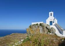 Church in Serifos, Cyclades, Greek Royalty Free Stock Photo