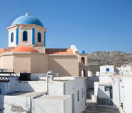 Church of Serifos on the greek islands of cyclades. Stock Photo