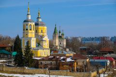 Church in Serpuhov Stock Photography