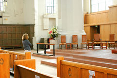 Church service. Stock Photography