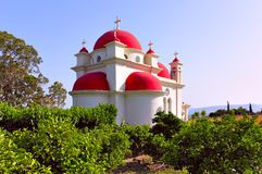 Church of the Seven Apostles Royalty Free Stock Image