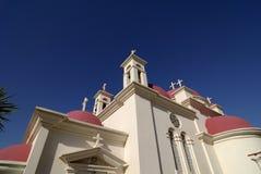 Church of the Seven Apostles, Capernaum, Israel Stock Photo