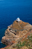 The Church of the Seven Martyrs on Sifnos island Royalty Free Stock Photography
