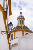 Church in Sevilla. Royalty Free Stock Photos