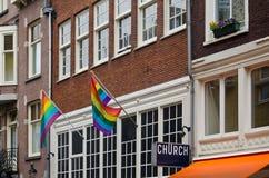Church for sexual minorities Stock Photos