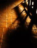 Church Shadows Stock Photo