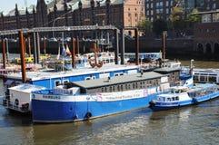 Church of the ship - Hamburg Stock Photography